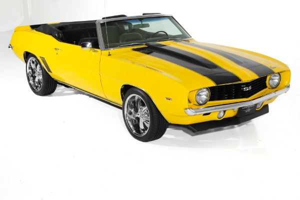 For Sale Used 1969 Chevrolet Camaro Convertible 454/565hp | American Dream Machines Des Moines IA 50309