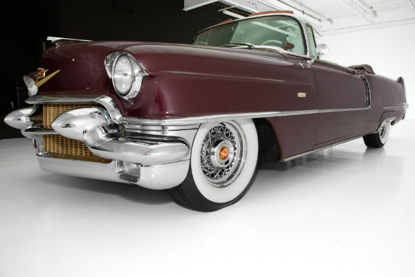 For Sale Used 1956 Cadillac  Chantilly Maroon Metallic | American Dream Machines Des Moines IA 50309