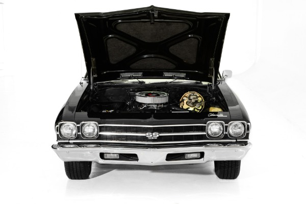 For Sale Used 1969 Chevrolet Chevelle Black Real SS 396 4-Spd | American Dream Machines Des Moines IA 50309