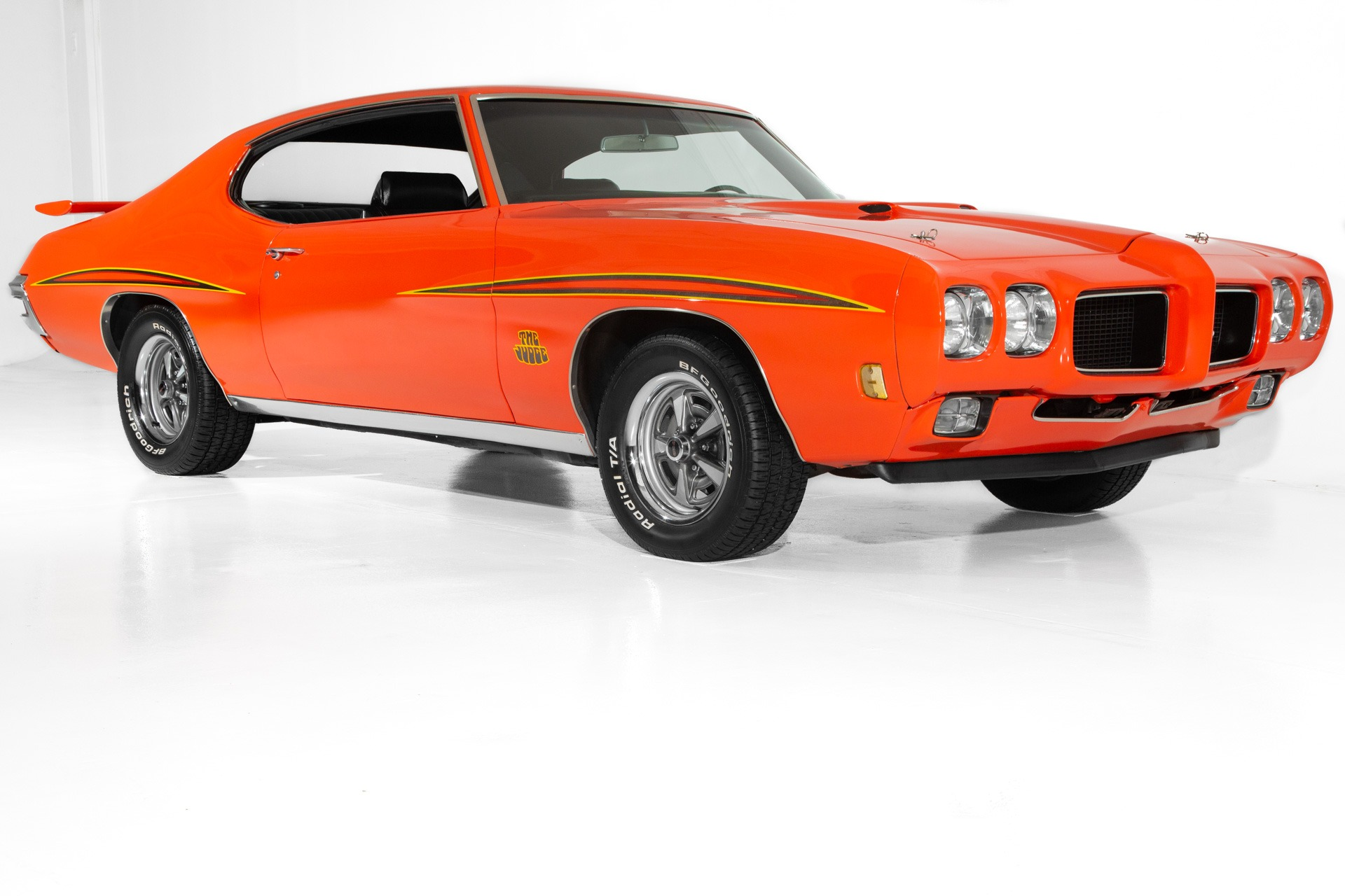 For Sale Used 1970 Pontiac GTO Judge Stripes, 400 ci engine | American Dream Machines Des Moines IA 50309