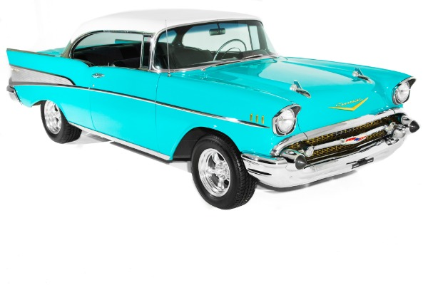 For Sale Used 1957 Chevrolet Bel Air 4-Speed Aluminum heads | American Dream Machines Des Moines IA 50309