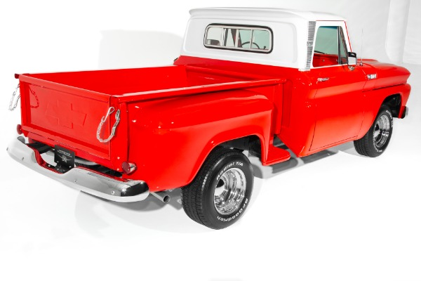 For Sale Used 1965 Chevrolet Pickup C10 Stepside 350 PB PS | American Dream Machines Des Moines IA 50309