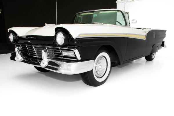 For Sale Used 1957 Ford Fairlane 500 Skyliner Retractable Auto | American Dream Machines Des Moines IA 50309