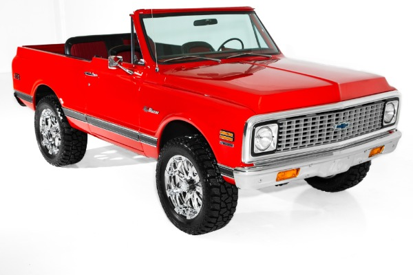 1972 Chevrolet Blazer  4x4 Houndstooth 4-Speed