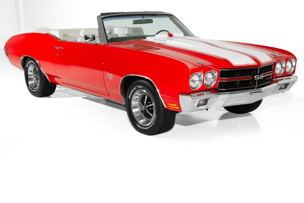 1970 Chevrolet Chevelle Red, Real SS, Build sheet,