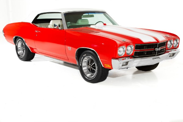 For Sale Used 1970 Chevrolet Chevelle Red, Real SS, Build sheet, | American Dream Machines Des Moines IA 50309
