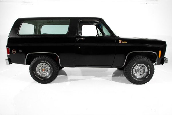 For Sale Used 1975 Chevrolet Blazer Black K5 4X4 Hardtop BFGS | American Dream Machines Des Moines IA 50309