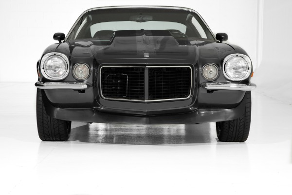 For Sale Used 1971 Chevrolet Camaro Charcoal, Black Stripes | American Dream Machines Des Moines IA 50309