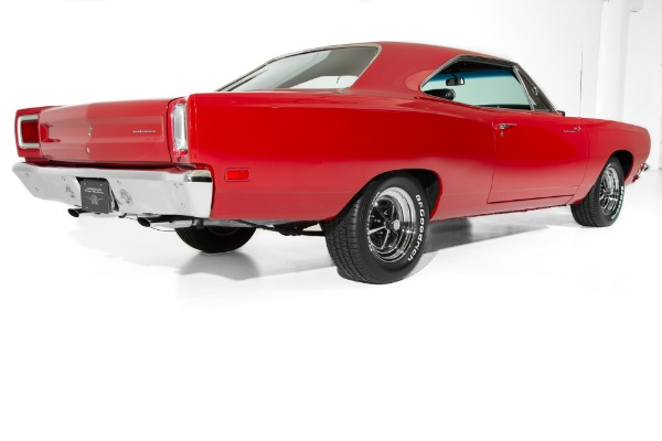 For Sale Used 1969 Plymouth Road Runner Red/Black 440 6Pack | American Dream Machines Des Moines IA 50309