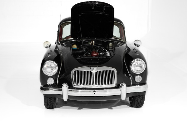 For Sale Used 1961 MG MGA Black/Red, 1600cc 4-Spd, 1 of 561 | American Dream Machines Des Moines IA 50309