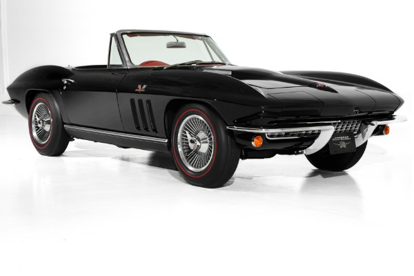 1966 Chevrolet Corvette Black, Red Show Car 427