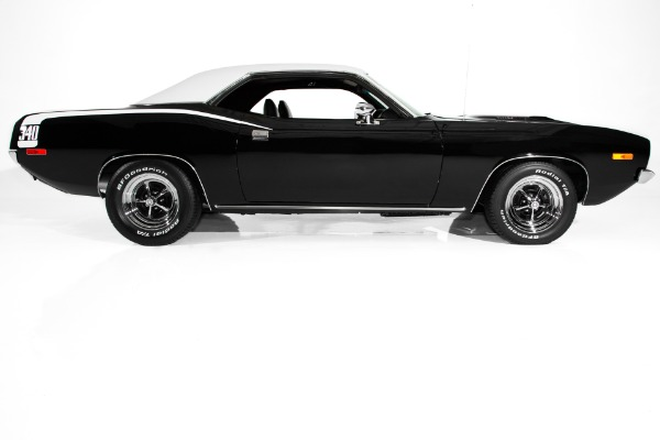 1973 Plymouth Barracuda Black 340, 4 Speed AC -