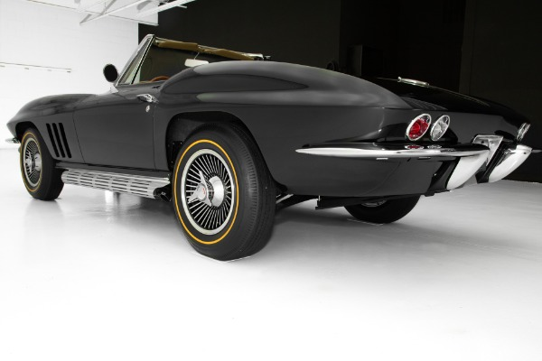 For Sale Used 1966 Chevrolet Corvette Black 427/450 Frame Off | American Dream Machines Des Moines IA 50309