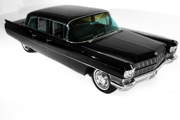 1965 Cadillac Fleetwood  Ominous Black Limo