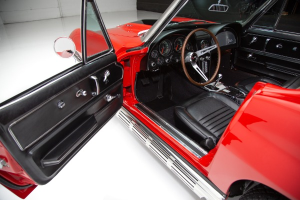 For Sale Used 1967 Chevrolet Corvette Red 427/435 #'s Match | American Dream Machines Des Moines IA 50309