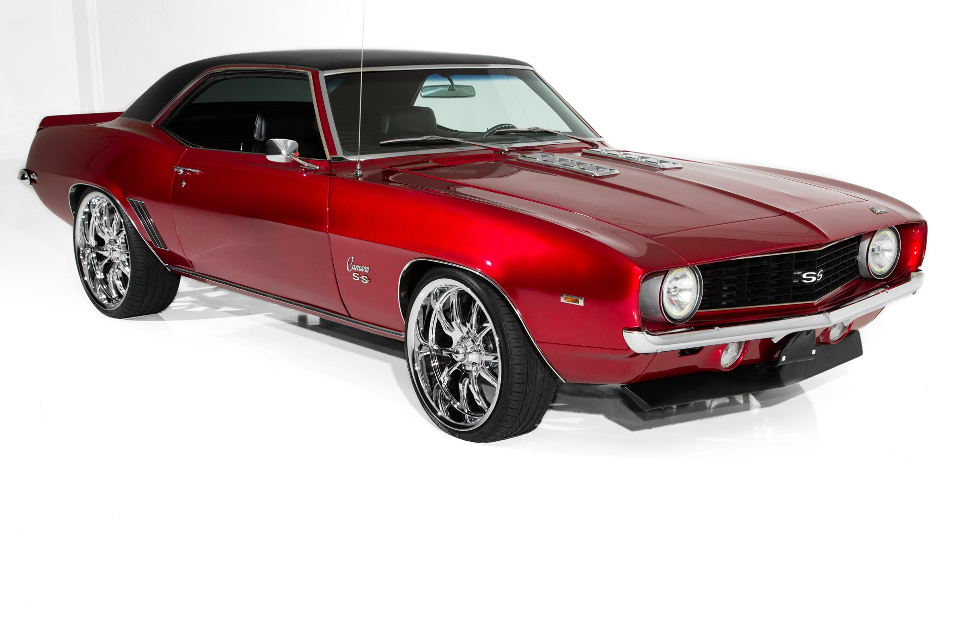 For Sale Used 1969 Chevrolet Camaro Candy Red Pearl Pro-Tour | American Dream Machines Des Moines IA 50309