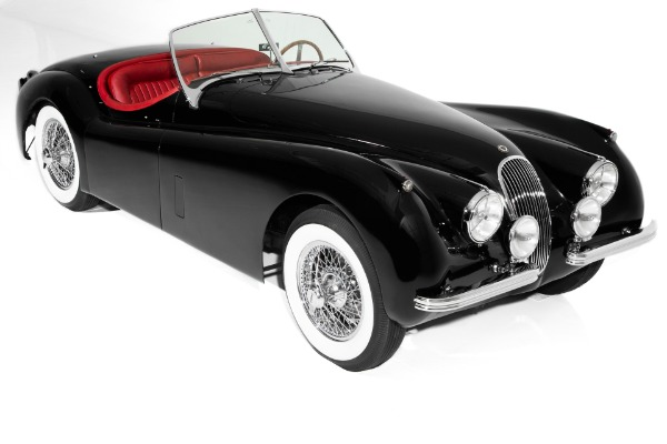1953 Jaguar XK120 Black/Red Extraordinary