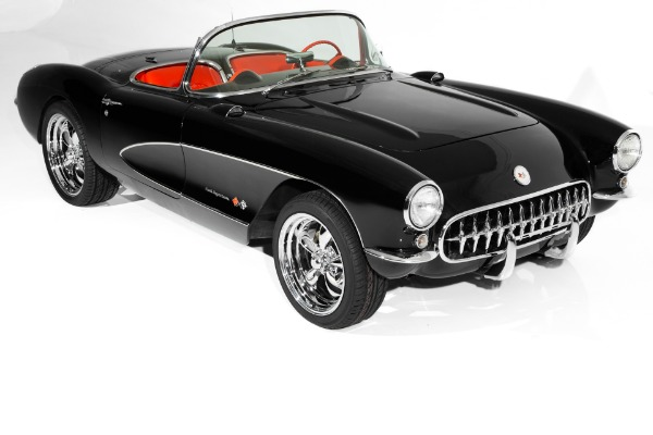 1957 Chevrolet Corvette Black/Red, 383/450hp