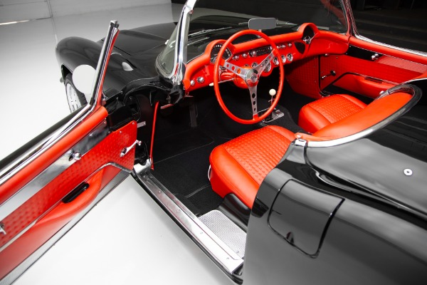 For Sale Used 1957 Chevrolet Corvette Black/Red, 383/450hp | American Dream Machines Des Moines IA 50309