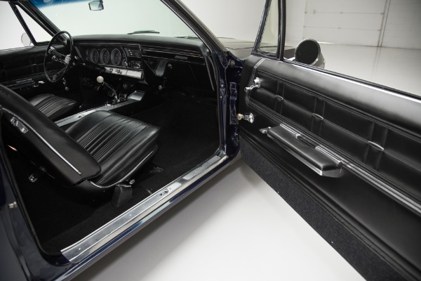 For Sale Used 1967 Chevrolet Impala Dark Blue SS 396 4-Speed | American Dream Machines Des Moines IA 50309