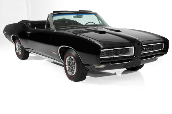 1968 Pontiac GTO Triple Black, Gorgeous