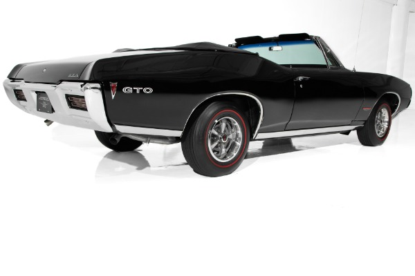 For Sale Used 1968 Pontiac GTO Triple Black, Gorgeous | American Dream Machines Des Moines IA 50309