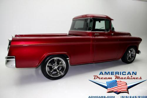 For Sale Used 1956 Chevrolet Cameo Big Back Window V8 Fleet Cameo | American Dream Machines Des Moines IA 50309
