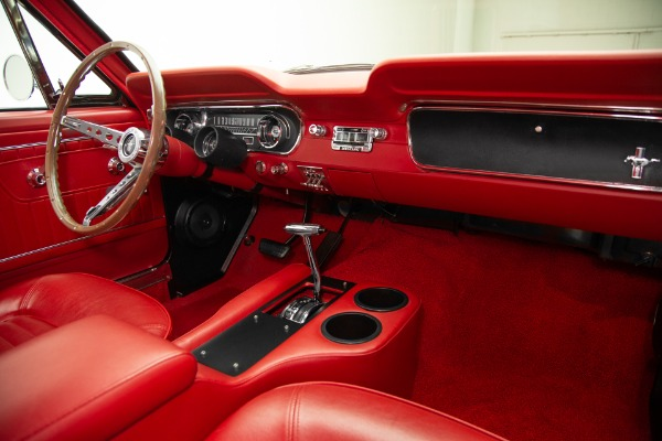 For Sale Used 1965 Ford Mustang Black/Red 289 Auto, PS, PB | American Dream Machines Des Moines IA 50309