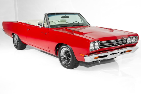 For Sale Used 1969 Plymouth Road Runner Rotisserie Car | American Dream Machines Des Moines IA 50309