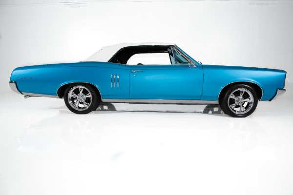 For Sale Used 1967 Pontiac LeMans Blue Auto A/C, GTO options | American Dream Machines Des Moines IA 50309