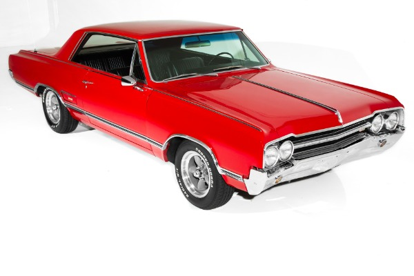 For Sale Used 1965 Oldsmobile 442 Red/Black, 455, 4-Speed | American Dream Machines Des Moines IA 50309