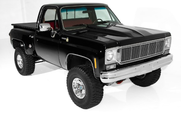 For Sale Used 1976 Chevrolet Pickup 4WD Step Side Show Truck 383ci | American Dream Machines Des Moines IA 50309