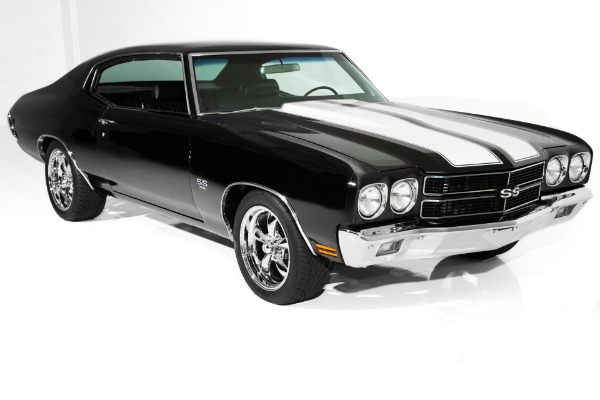 1970 Chevrolet Chevelle  Black SS Gorgeous A/C