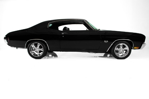 For Sale Used 1970 Chevrolet Chevelle Black SS Gorgeous A/C | American Dream Machines Des Moines IA 50309