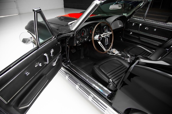 For Sale Used 1967 Chevrolet Corvette Black 427/435 #'s Match | American Dream Machines Des Moines IA 50309