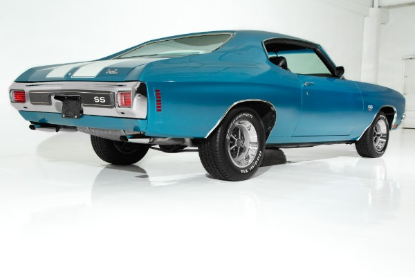 For Sale Used 1970 Chevrolet Chevelle Astro Blue SS 4-Speed | American Dream Machines Des Moines IA 50309