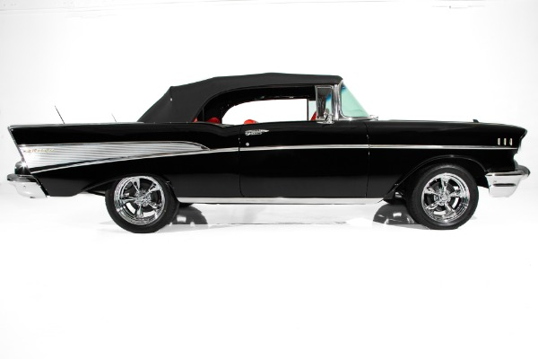 For Sale Used 1957 Chevrolet Bel Air Auto, PS, Gorgeous | American Dream Machines Des Moines IA 50309