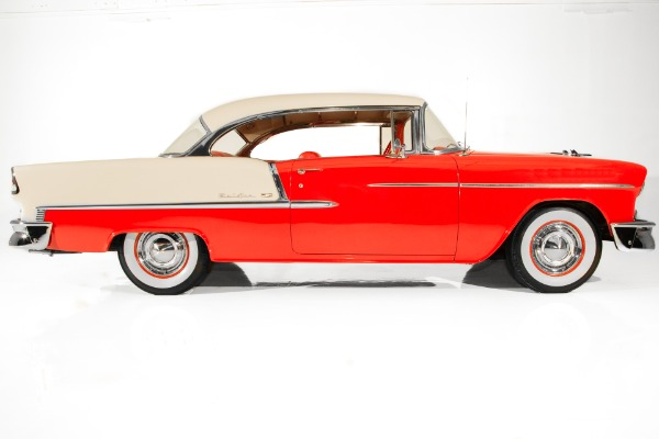 For Sale Used 1955 Chevrolet Bel Air Red 265 Power Pack Auto | American Dream Machines Des Moines IA 50309