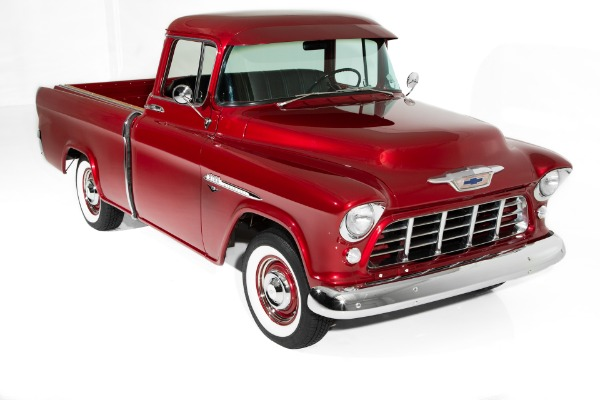 1955 Chevrolet Pickup Rare Cameo Big Window V8