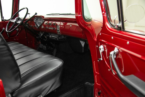 For Sale Used 1955 Chevrolet Pickup Rare Cameo Big Window V8 | American Dream Machines Des Moines IA 50309