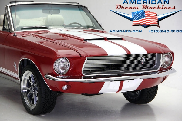 For Sale Used 1967 Ford Mustang, Shelby Cobra Accents, Convertible | American Dream Machines Des Moines IA 50309
