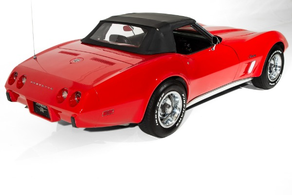 For Sale Used 1975 Chevrolet Corvette Convertible #'s Match | American Dream Machines Des Moines IA 50309