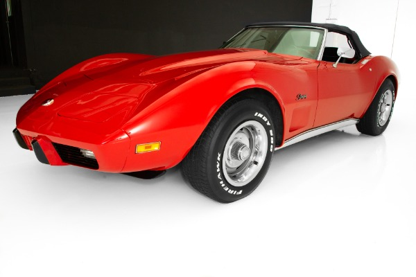 For Sale Used 1975 Chevrolet Corvette Convertible #s Match | American Dream Machines Des Moines IA 50309