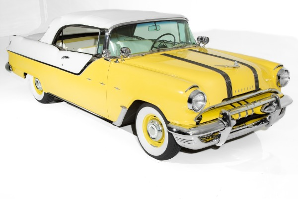 For Sale Used 1955 Pontiac Laurentian Convertible Very Rare | American Dream Machines Des Moines IA 50309