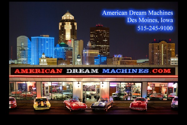 For Sale Used 1955 Chevrolet Bel Air Frame-off AC, PS, PB | American Dream Machines Des Moines IA 50309