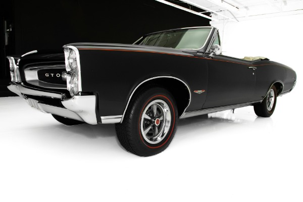 For Sale Used 1966 Pontiac GTO Factory Tri-Power 4-Speed PHS | American Dream Machines Des Moines IA 50309