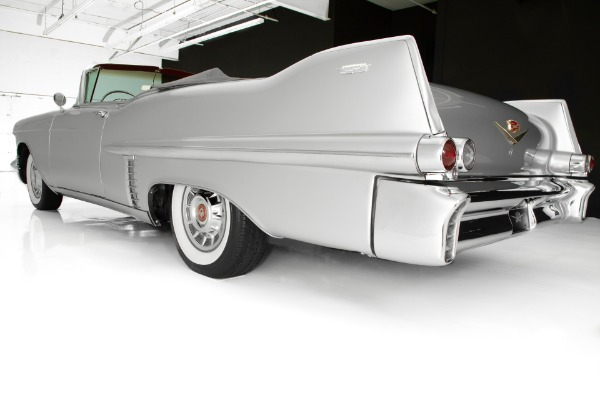 For Sale Used 1957 Cadillac Series 62 Stunning Silver | American Dream Machines Des Moines IA 50309