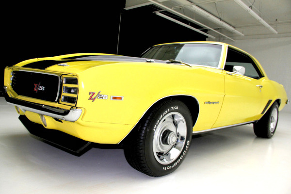 For Sale Used 1969 Chevrolet Camaro RS Z28 RS Z28 | American Dream Machines Des Moines IA 50309