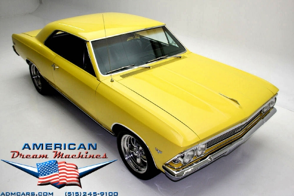 For Sale Used 1966 Chevrolet Chevelle Frame off restored Chevelle | American Dream Machines Des Moines IA 50309