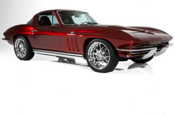For Sale Used 1965 Chevrolet Corvette Candy Brandywine LS1 | American Dream Machines Des Moines IA 50309